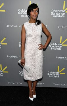 Kerry Washington - Arrivals at the Celebrate Sundance Institute Benefit wearing