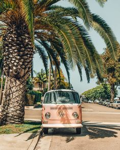 Pink VW Bus Pink VW Bus in Encinitas, California Printed on Ha. - Pink VW Bus Pink VW Bus in Encinitas, California Printed on Hahnemuhle Photo Rag 308 Free domestic shipping on all orders Right this way for more details - Beach Aesthetic, Aesthetic Photo, Aesthetic Pictures, Aesthetic Vintage, Aesthetic Dark, Aesthetic Bedroom, Summer Aesthetic, Aesthetic Grunge, Aesthetic Pastel Wallpaper