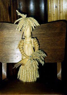 Corn Dolly by Cornelia, corn originally meaning grain including barley, wheat, and rye.