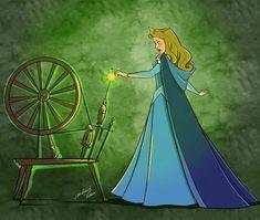 Sleeping Beuty, Sleeping Beauty Art, Sleeping Beauty Maleficent, Disney Canvas Art, Disney Fan Art, Disney Pixar, Disney Characters, Disney Princesses, Disney Princess Aurora