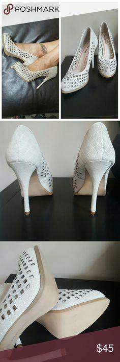 """🆕 Luxury Rebel Suede heels Brand new! Gorgeous sexy beige heels, 5"""" heel & 1"""" hidden platform. Luxury Rebel  Shoes Heels"""