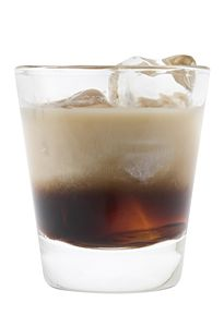 White Russian: Equal parts Vodka (pref. vanilla), Kahlua, then cream or Bailey's (for a Blind Russian, i.e. all alcoholic ingredients).     My favorite Winter drink (and overall dessert drink)