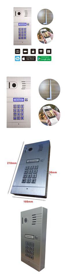 Door Viewers 126439: Wireless Wifi Hd Video Door Phone Smartphone Video Doorbell Villa Door Camera -> BUY IT NOW ONLY: $149 on eBay!