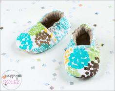 Just Be Dandy // Baby Booties // Eco Friendly // Crib Shoes // Soft Sole // Accessories for Baby via Etsy
