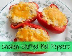 Chicken Stuffed Bell Peppers