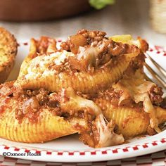 Gooseberry Patch Recipes: Italian 3-Cheese Stuffed Shells from 103 Pot Pies & Casseroles