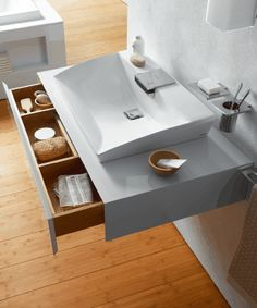 Luxury Bathroom Collection In Minimalist Style by TOTO - DigsDigs Interior Architecture, Interior Design, Bathroom Collections, Minimalist Fashion, Minimalist Style, My Dream Home, Countertops, Shelves, Bathrooms