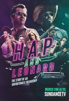 Hap and Leonard (2016-2018) : https://www.cryptoseries.fr/series/item/1448-hap-and-leonard