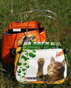 The Purse Project: Feed bags to tote bags#Repin By:Pinterest++ for iPad#