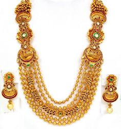 Massive Wedding Necklace Design
