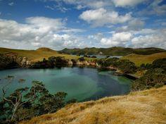Broken Islands, Great Barrier Island, New Zealand