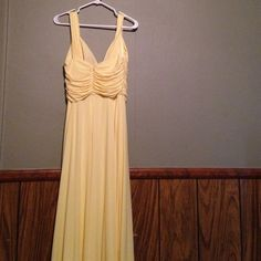 Yellow prom dress Yellow prom dress never worn warm yellow dress JS boutique  Dresses High Low