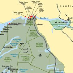 Chobe National Park Map Botswana Safari and Luxury Trips, Holidays, Tours Chobe National Park, National Parks Map, Africa Map, Africa Travel, Game Lodge, Safari Adventure, Roadtrip, Luxury Travel, Travel Inspiration