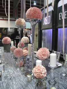 Red Events - Centrepieces