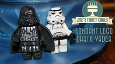 In this video tutorial I show you how to make a fondant lego Darth Vader from Starwars. birthday cake decorating, cakes, tutorial, how to, royal icing , lego...