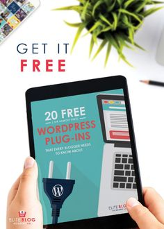 Unsure how what plug-ins you need to run your blog? Take a look at these 20 free or almost free plug-ins to improve your blog today! #wordpress #wordpresshelp #bloggingtips #bloggingadvice #eliteblogacademy #bloggingforbeginners #howtostartablog