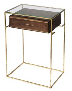 "Floating Drawer Side Table from Dering Hall. This is so cool and probably SO unaffordable :0). ""Price on request"" is never a good thing."