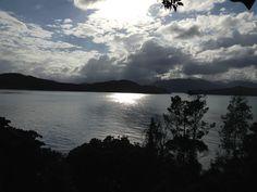 Linda vista... Em Ilha Anchieta. Litoral Norte/SP