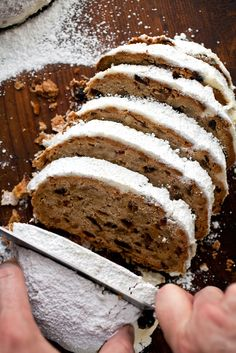 Stollen wouldn't have become the Christmas cake of Germany — a country where they take both pastry and Christmas very seriously — if it didn't have many charms. (Photo: Andrew Scrivani for The New York Times)