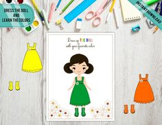 Kindergarten Printable Dolls outfits play and learn the Preschool Special Education, Preschool Themes, Preschool Printables, Karaoke Party, Bar Wrappers, Tent Cards, School Psychology, Blue And Silver, Doll Clothes