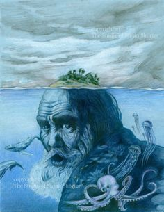 The Old Man and the Sea by susanshorter on Etsy