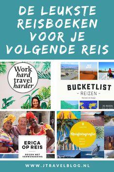 Ben je op zoek naar wat leesvoer? Deze leukste reisboeken ter inspiratie voor je volgende reis mogen niet ontbreken in je boekenkast. Lees je mee? #reisboeken #jtravelblog #jtravel #books #travelbooks