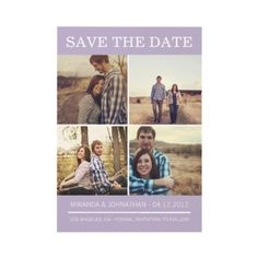#wedding #Photo Save The Date Announcements
