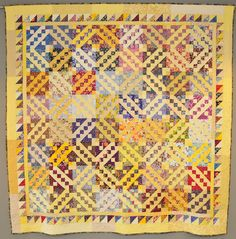 """Florabunda""  by Lynn Dykstra Davis. Made from a blog challenge design by Bonnie Hunter of Quiltville. Made entirely of stash! Quilted by Sue DiVarco."