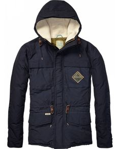 Colour Block Down Jacket  Mens Clothing  Jackets at Scotch  Soda - Official Scotch  Soda Online Fashion  Apparel Shops