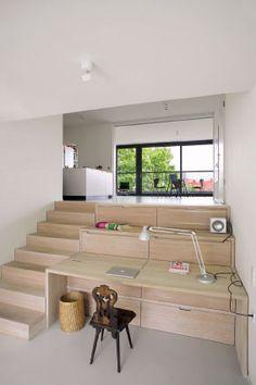 04_Flottwellstra_2_HEIDE_   ASB Portal Home Design Decor, House Design, Interior Design, Home Decor, Atrium House, Interior Stairs, Interior Garden, Architect House, Bespoke Furniture