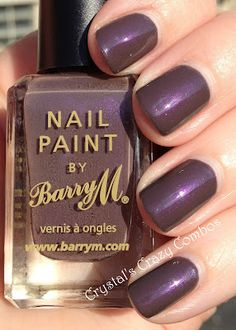 Crystal's Crazy Combos: Barry M - Dusky Mauve...Love this color!!