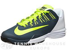 brand new 9bad9 28f5f Chaussures Homme Nike Lunar Ballistec 1.5 Blanc Gris Jaune Fluo Volt