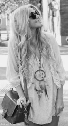 When Hipster, Bohemian and Gypsy style unite.