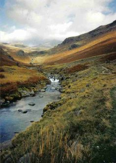 Great memories of river wading on Lake District field trip in 1999!