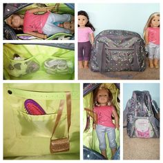 Thirty-One All-In Tote is the June Special! #americangirl #dollbag #pinkbagdiva Join my FB. group,a place for my Customers and new future Customers! NO 31 Consultants please! Thanks https://www.facebook.com/groups/221123648035423/