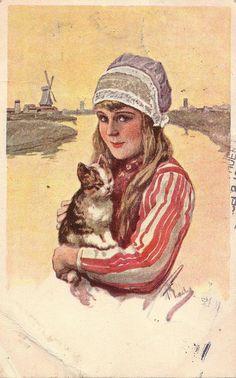 marken meisje 1931 #NoordHolland #Marken