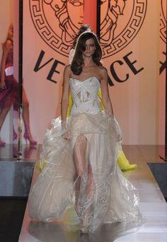 Vestido de novia de Alta Costura de Versace