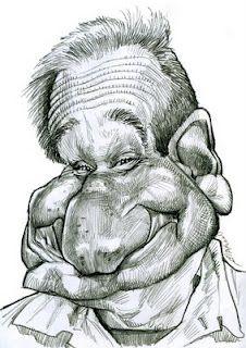 Artist:Jan Op De Beeck   Caricature:Robin Williams