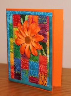 Quilted Greeting card patterns-a great gift in this age of digital communication!