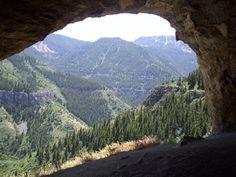 Wind Caves - Logan, Utah