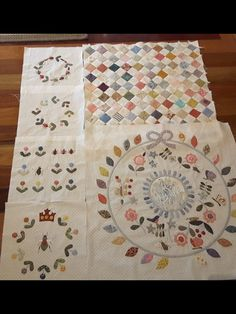 Blocks for Rowdy Flat library quilt