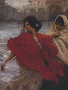 Ettore Tito (1859-1941), San Marco - 1899