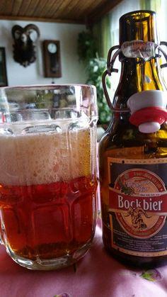 Wippraer Bockbier. Wippra, Saxony-Anhalt, Germany