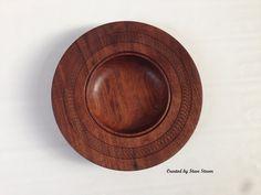 Decorative Bowl Black Walnut Textured Rim by Steve Stover. Walnut Texture, Wood Bowls, Woodturning, Decorative Bowls, Smoke, Sculpture, Display, Black, Ideas