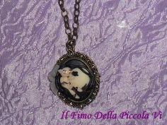Il Fimo Della Piccola Vì - Cameo handmade fantasy in fimo
