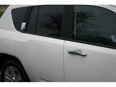 OMPASS 2007-2015 JEEP (6 pieces: DOOR HANDLE COVER (includes one key access) - ABS plastic with chrome overlay) DH51075