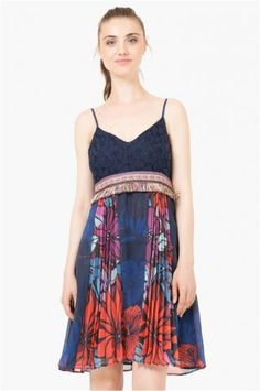 Desigual šaty Tie Dye Skirt, Skirts, Fashion, Moda, Fashion Styles, Skirt, Fashion Illustrations, Gowns