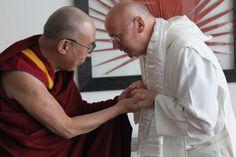 Laurence Freeman OSB met His Holiness the Dalai Lama in Manchester