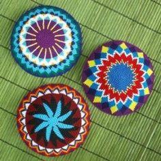 Hand-crocheted Kippah « Fair Trade Judaica (FTJ)