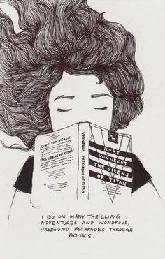 Livros te levando á grandes aventuras
